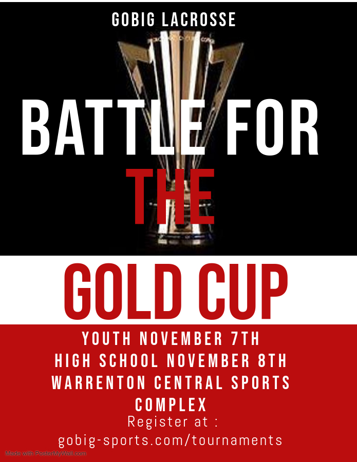 Flyer for GOLD CUP
